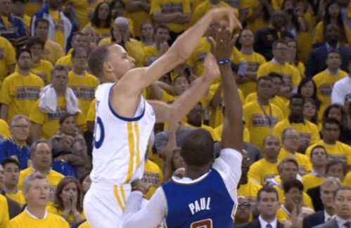 curry-foul