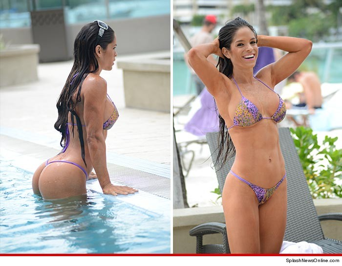 michelle lewin just put a beatdown on any other chick